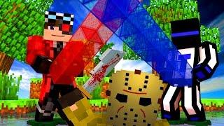 У КОГО ДЛИННЕЕ СТОЛБ? ИГРАЕМ НА КАРТЕ ДЛЯ МАНЬЯКА (CRISTALIX) НАШИ МИНИ ИГРЫ! Minecraft !