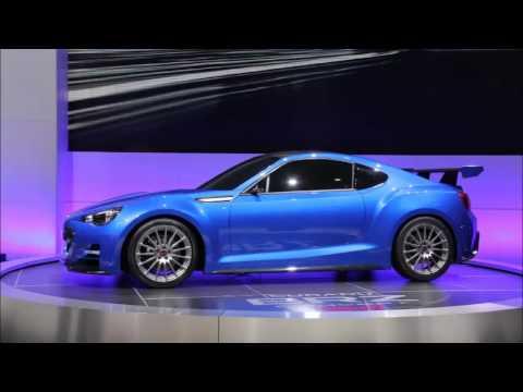 2011 Subaru Brz Sti Concept Youtube