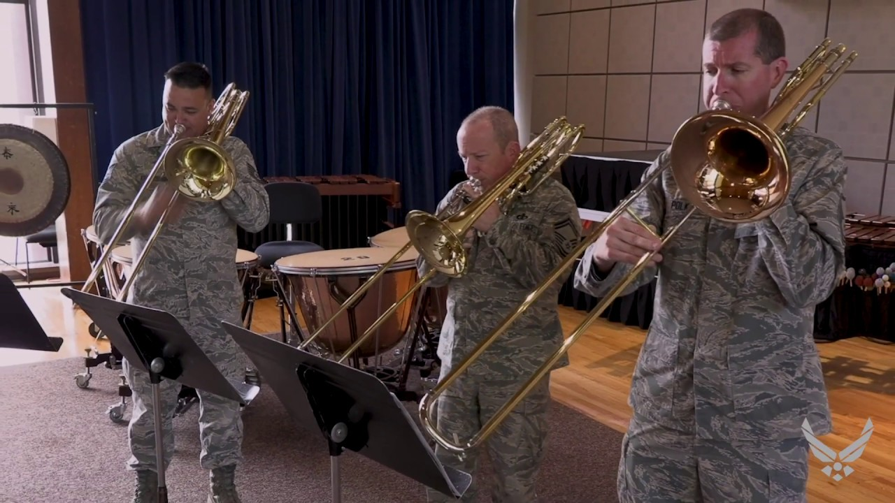 "The United States Air Force Band in Washington, D.C., is proud to present its ""On the Fly"" music video series. Capturing moments of daily life for members of The U.S. Air Force Band, these videos provide an insider's look at the many talents and capabilities of these Airmen Musicians, and how they inspire American citizens, honor our service men and women, and impact our global community every day.