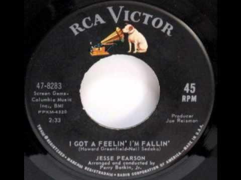 JESSE PEARSON I Got A Feelin' I'm Falling BELGIAN ...