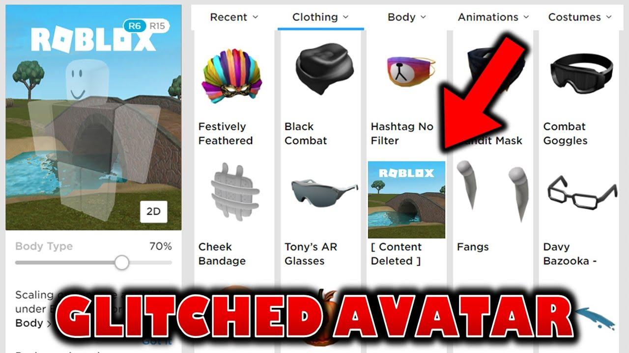 CRAZY AVATAR GLITCH! Make Your Avatar A Game Icon!?