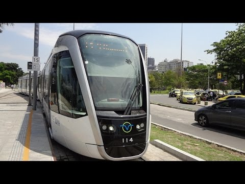 Rio de Janeiro - Andando de VLT no Centro - 27/09/2016