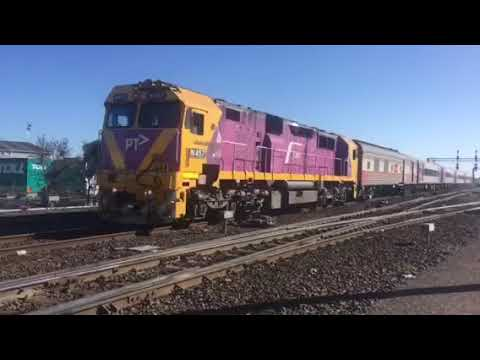 Freight trains at Melbourne docks part 2