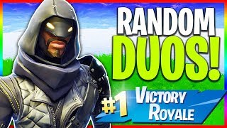 "🔴 Solos & Random Duos // NEW ""Cloaked Star"" Skin in Fortnite! (Fortnite LIVE Gameplay)"