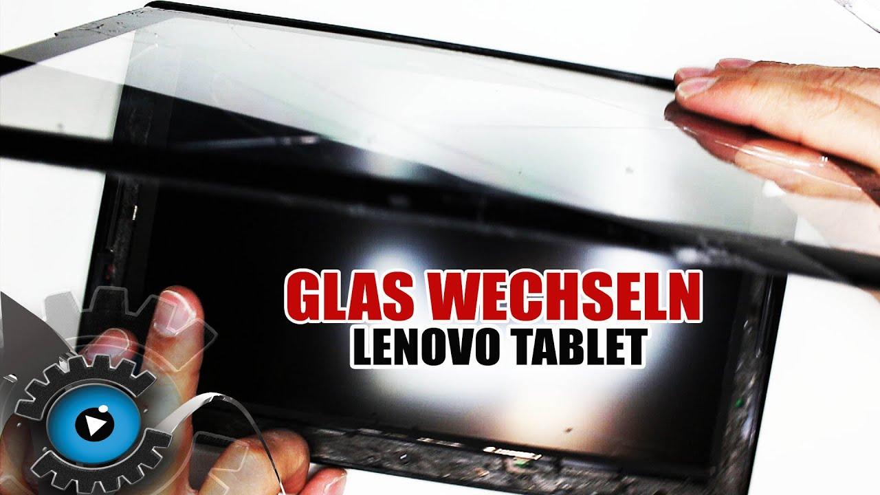 Lenovo Tablet Glas Digitizer Wechseln Tauschen unter 20€ Reparieren [Deutsch German]