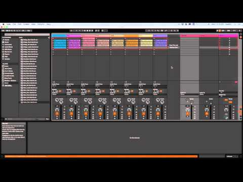 Setting Up Stems for Live Performance in Ableton Live