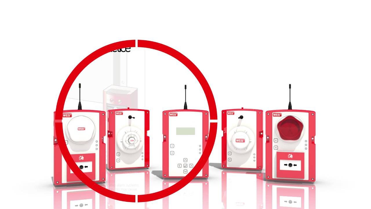 WES+ Wireless fire alarms for