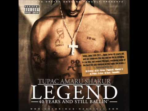 2pac - Legend - 40 Years And Still Ballin' - Only Fear Of Death