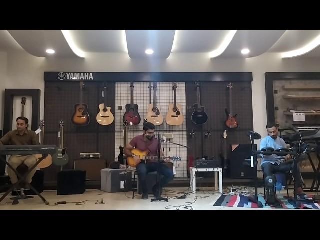 Aitebar (Live) at Yamaha Music Store Karachi