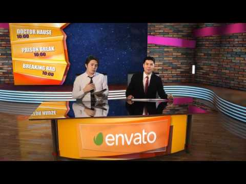 3D Virtual Studio  - After Effects Template From Videohive