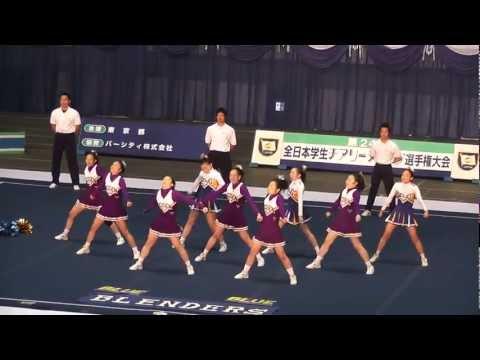 全日本学生チアリーディング選手権大会 S.S.S. & BRUINS 【BLENDERS】