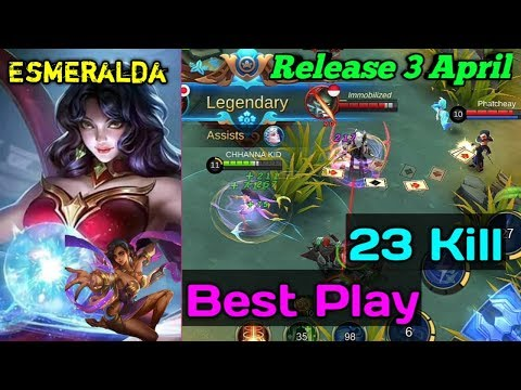 New Hero 23 Kill | Astrologer | Esmeralda | Mobile Legends: Bang Bang! thumbnail