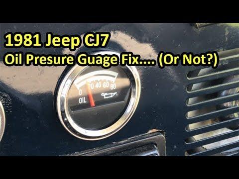 Pricol Oil Pressure Gauge Wiring Diagram 69 Mustang Radio Cj7 Sensor Blog Data 1981 Jeep Fix Youtube Harness