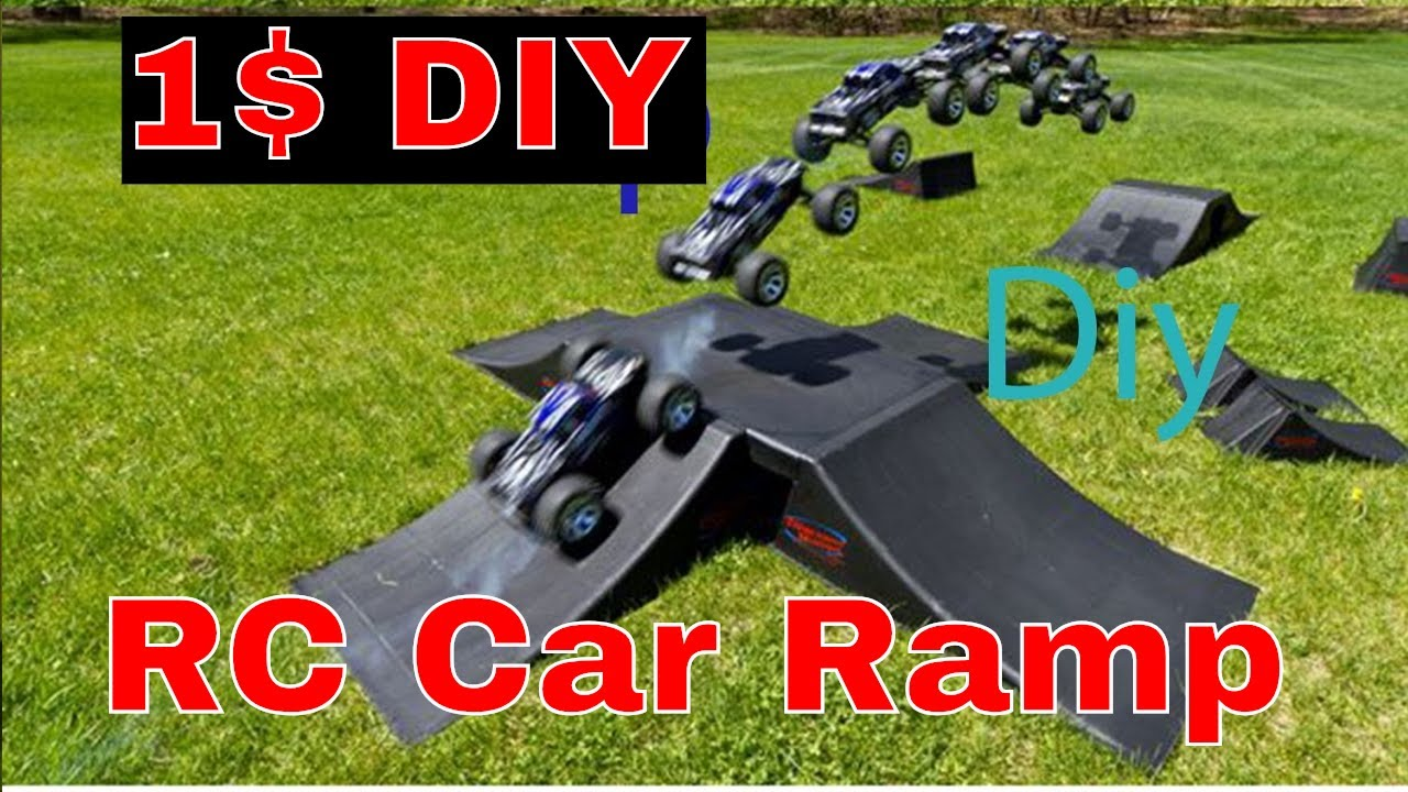 how to make a cheap rc car ramp 1 youtube. Black Bedroom Furniture Sets. Home Design Ideas