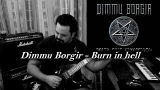 dimmu borgir burn in hell new 2017 hq guitar cover solo metal shinobi