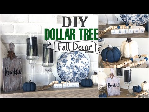 DIY Dollar Tree Fall Decor | 6 Projects