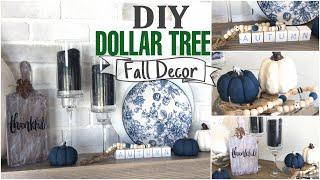 DIY Dollar Tree Fall Decor | 6 Projects