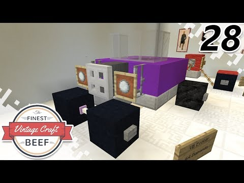 New Car And Hot Swap! - MINECRAFT (VintageCraft Server) - EP28