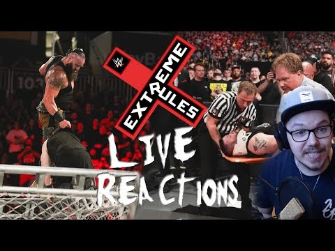 WWE EXTREME RULES 2018 - LIVE REACTIONS!! + Review! | DIESES BOOKING!..... | German/Deutsch