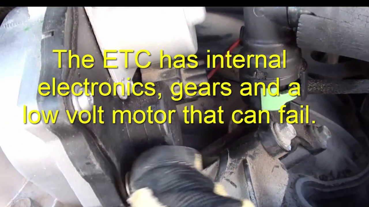 Fix    Ford    F150 Low Idle   Stalls at StopThrottle Body with