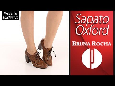 7e5e698e8 Sapato Oxford Feminino Bruna Rocha - 6030444981 - YouTube