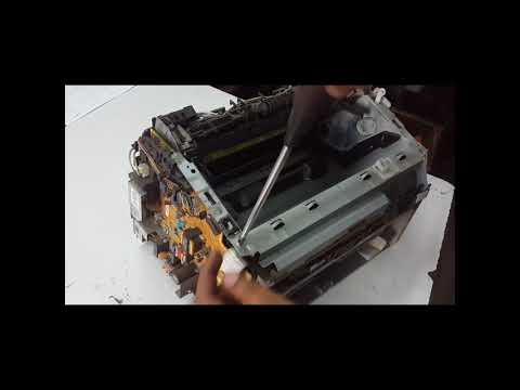 Canon LBP 2900B Disassembling | Scanner Unit | LSU