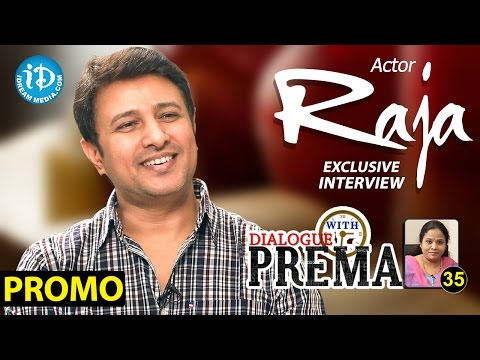 Actor Raja Exclusive Interview PROMO || Dialogue With Prema || Celebration Of Life #35