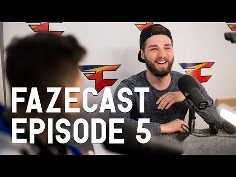 FaZeCast - Episode 5 (New FaZe Roster with Attach & Jev)