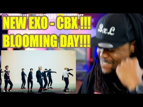 EXO-CBX (첸백시) '花요일 (Blooming Day)' MV | BLACK GUY REACTION!!!