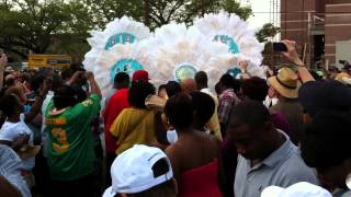 Mardi Gras Indians - Super Sunday 2012