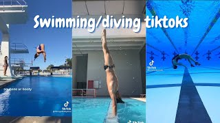 Swimming/Diving Tiktoks 🏊✨ | Tiktok Compilation