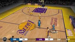 NBA Live 10 Gameplay for PSP