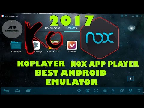 TOP 2 Best Android Emulator for PC 2017 | High Graphics | Smooth & Fast