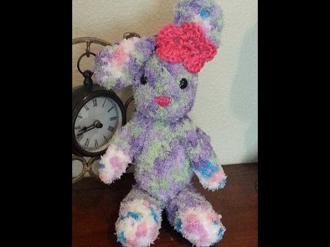 Amigurumi Rabbit Tutorial : Crochet amigurumi bunny rabbit diy tutorial youtube