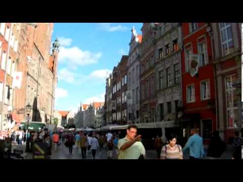 Dluga Street in Gdansk, Poland