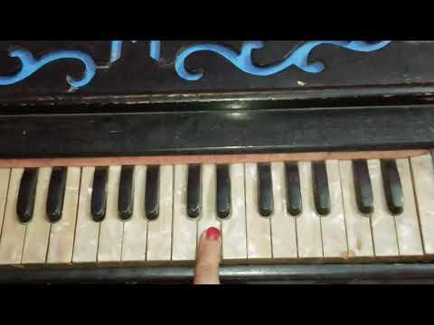 Allah Kare Dil Na Lage | Andaaz | Harmonium Tutorial | Piano/ Keyboard Tutorial