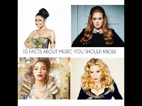 10 MIND BLOWING FACTS ABOUT MUSIC