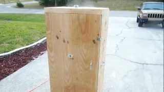 Homemade Wooden Beef Jerkey Smoker Box Part 4 - Diy How To Build A Food Smoker