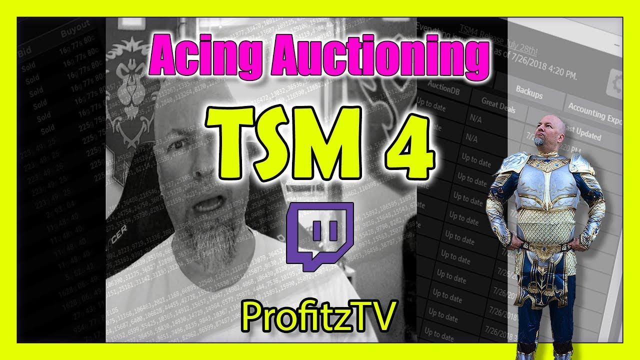 TSM4 Auctioning - Posting & Canceling