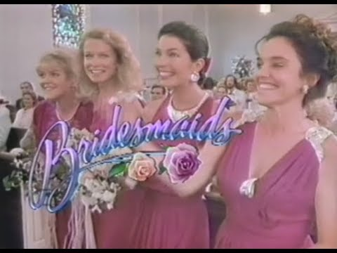 Bridesmaids (1989) Rare | With Commercials