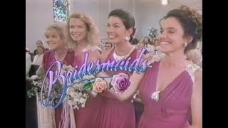 Bridesmaids (1989) Rare   With Commercials