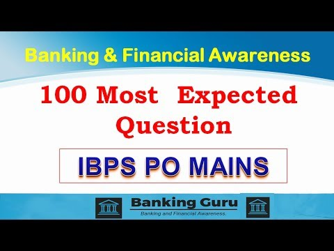 Banking and Financial Awareness Top 100