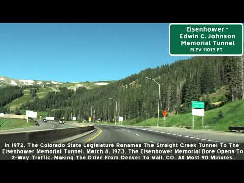 Eisenhower Tunnel, I-70 Colorado