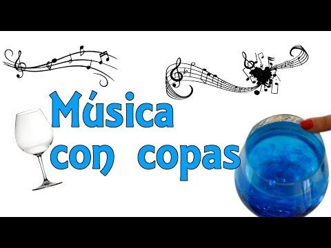 Música con copas (Experimentos Caseros para niños)
