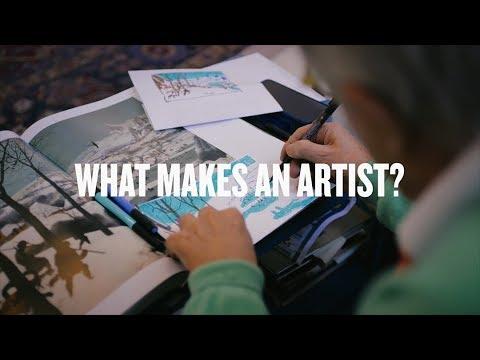 What Makes An Artist? David Hockney