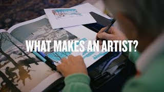 What Makes An Artist? David Hockney