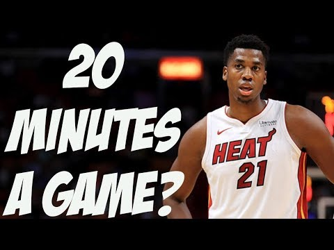 Hassan Whiteside is Pissed! Will The Heat Trade Him? Is This Nothing?