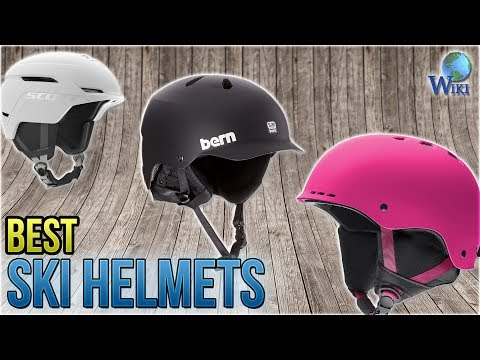 10 Best Ski Helmets 2018