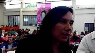 entrevista a la alcaldesa Lic. María teresa Galván de Gómez farias Tamaulipas