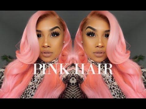 CELEB HAIR STYLIST SLAYS MY PINK 💕 HAIR   TheAnayal8ter